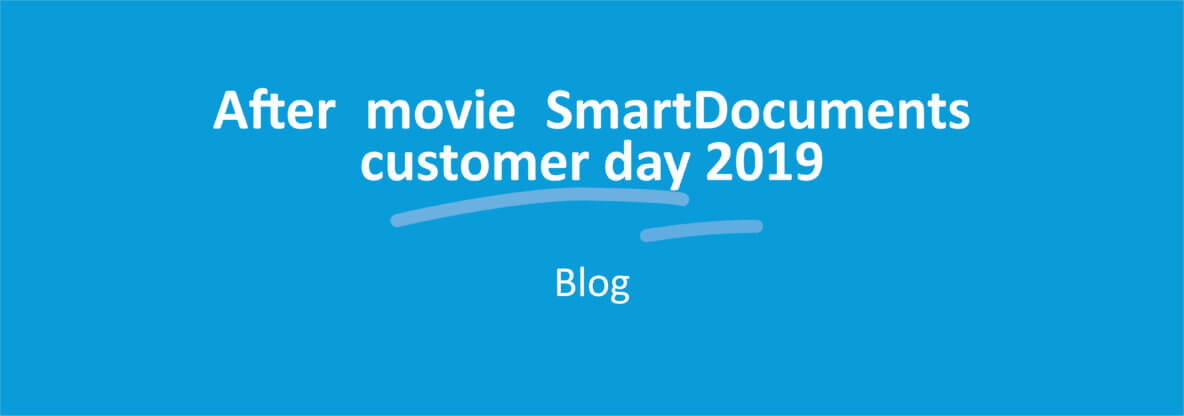 After movie SmartDocuments customer day 2019