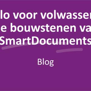 Duplo voor volwassenen: de bouwstenen van SmartDocuments