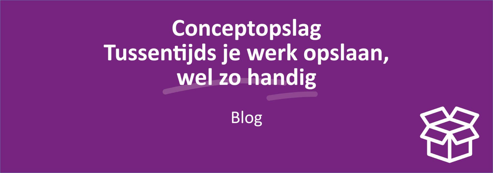 Conceptopslag Image