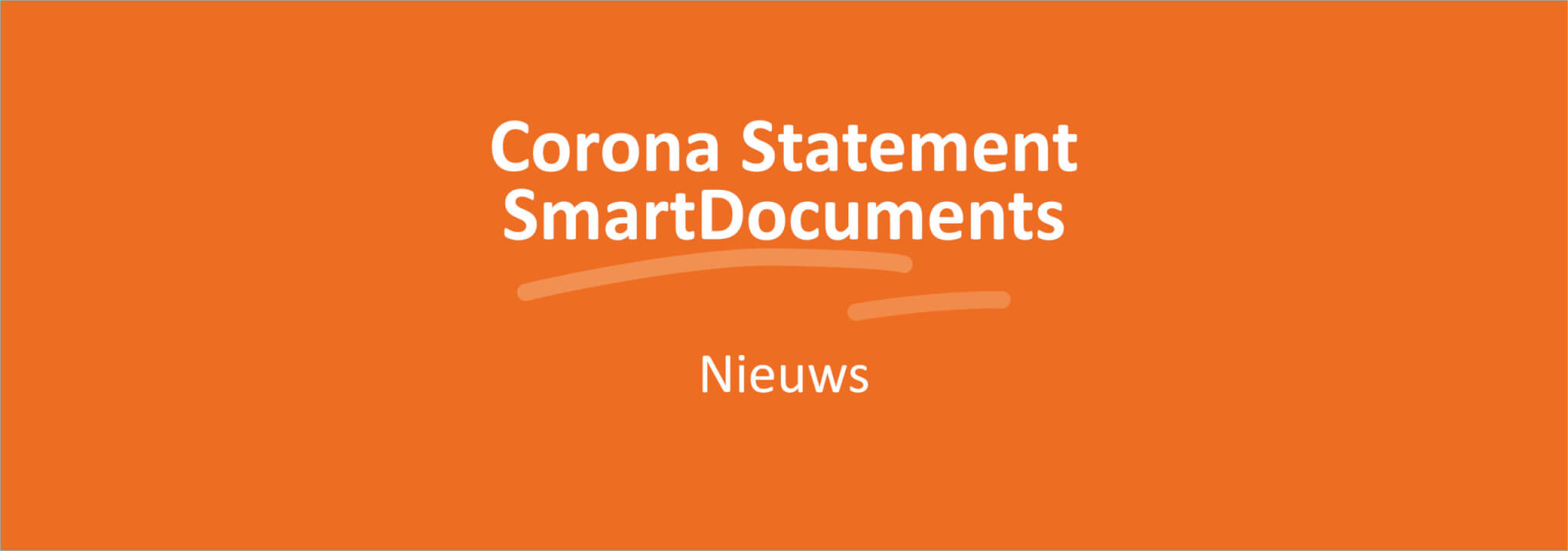 Corona statement SmartDocuments