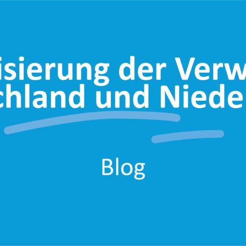 Digitalisierung der Verwaltung - Deutschland und Niederlanden
