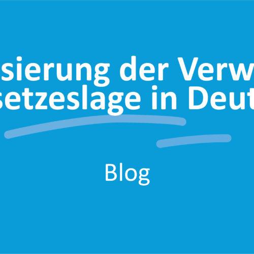 Digitalisierung der Verwaltung - Die Gesetzeslage in Deutschland