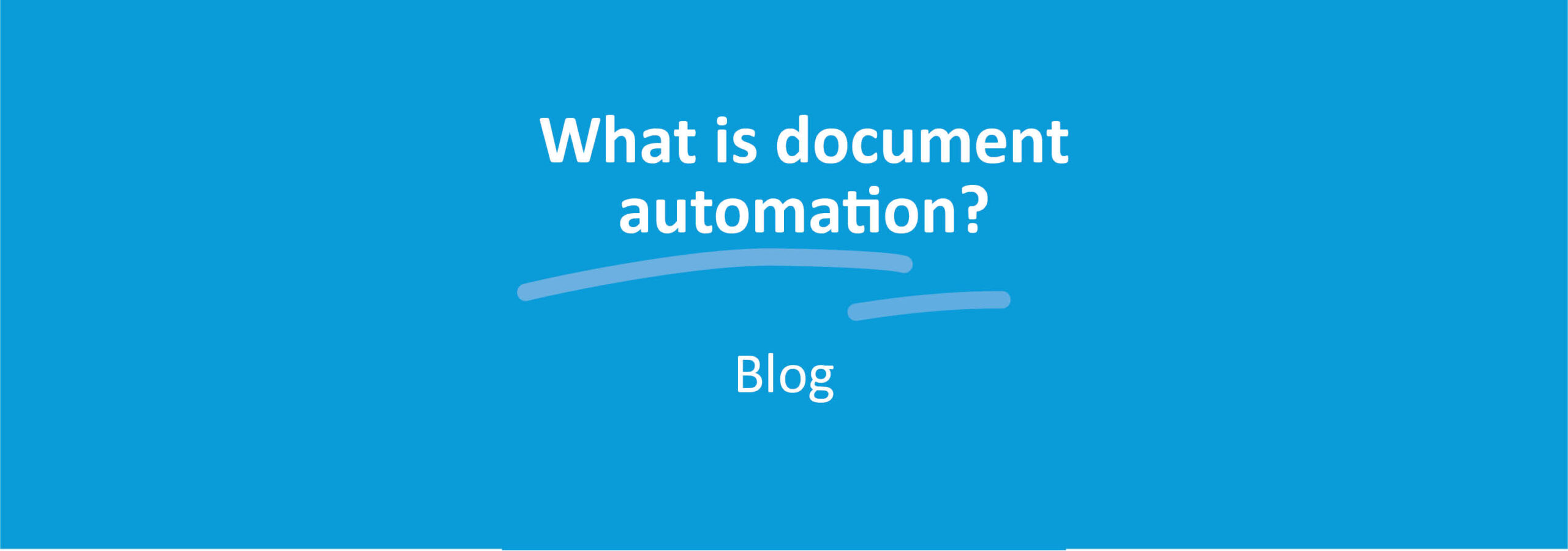 What is document automation?