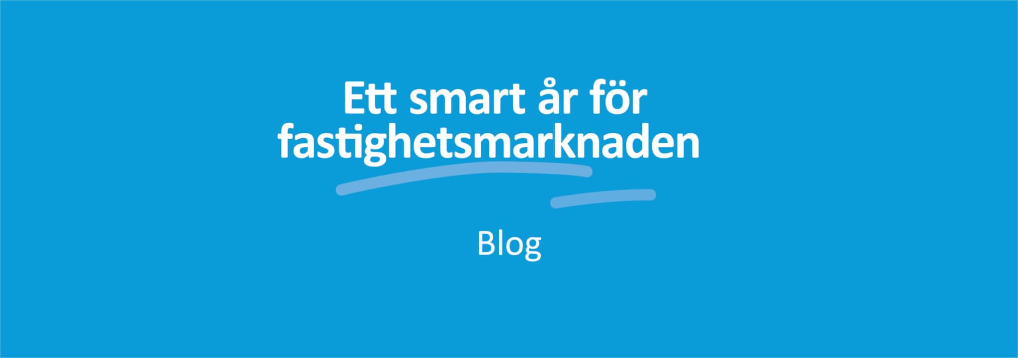 Ett smart år för fastighetsmarknaden banner