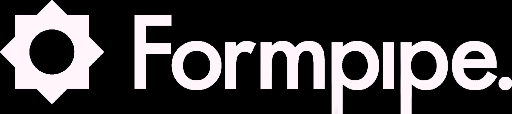 Formpipe logo white