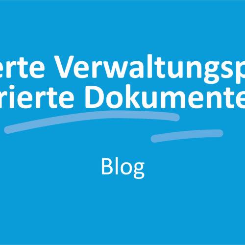 Optimierte Verwaltungsprozesse durch integrierte Dokumentenerstellung