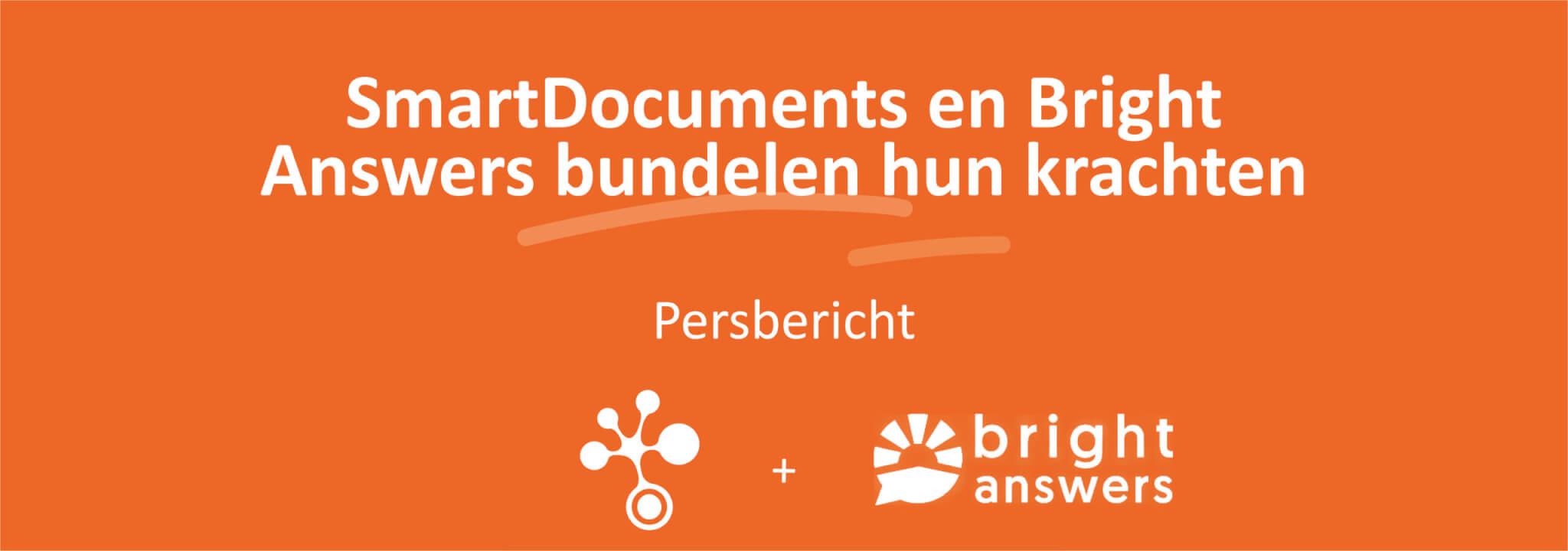 Persbericht SmartDocuments Bright Answers