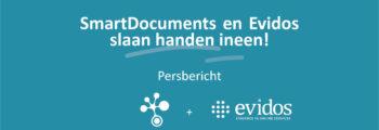 SmartDocuments en Evidos slaan handen ineen
