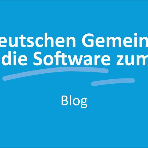 SD in deutschen Gemeinden - wo kommt die Software zum Einsatz?