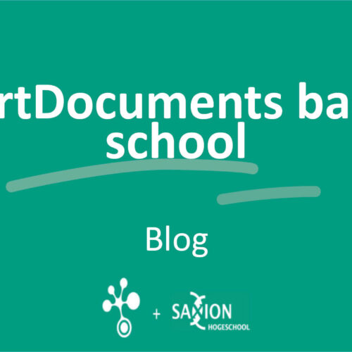 SmartDocuments back in school