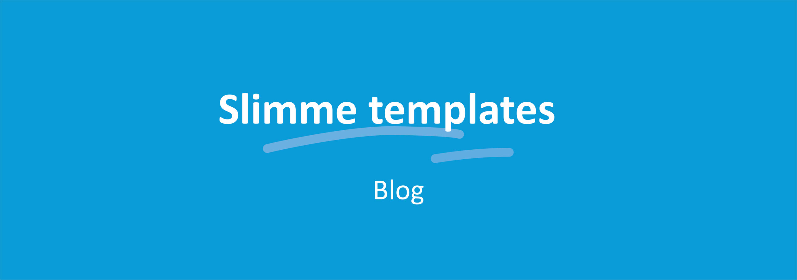 Slimme Templates