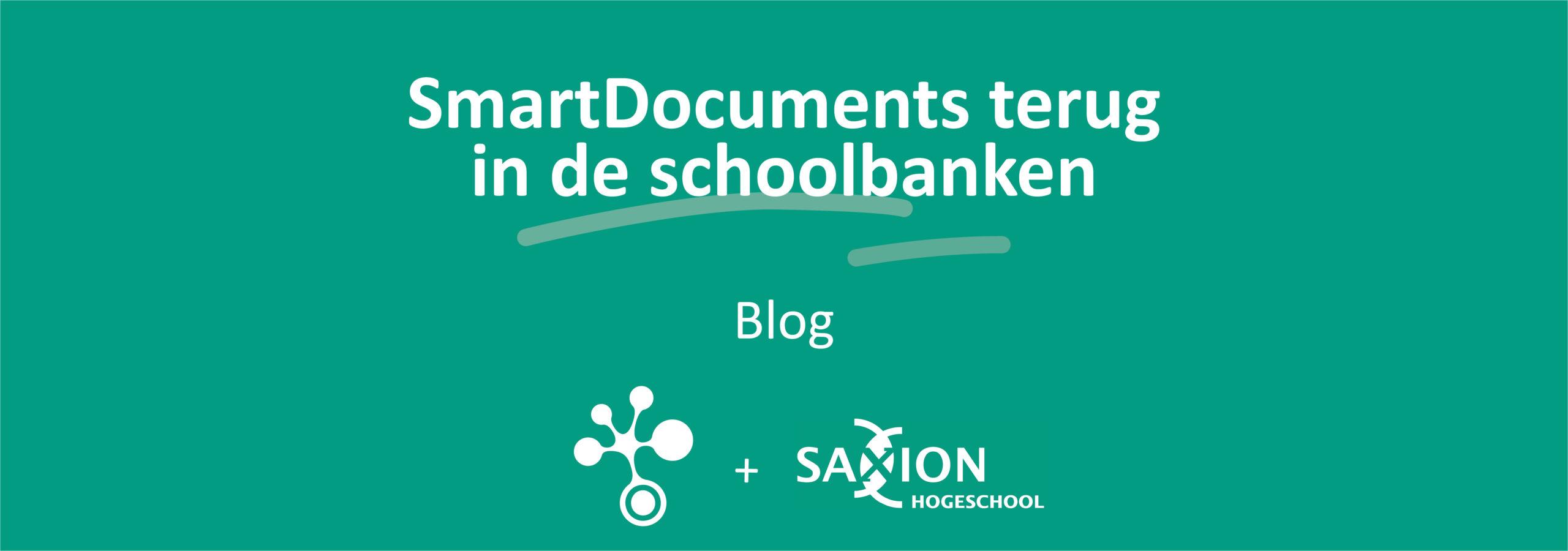 SmartDocuments terug in de schoolbanken