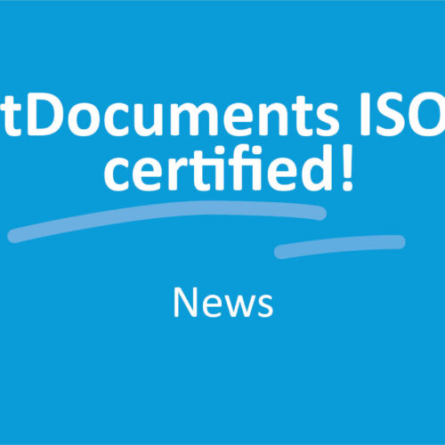 SmartDocuments ISO 9001 certified!