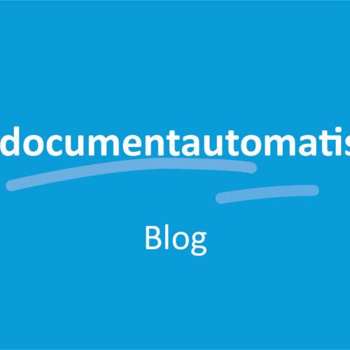 Wat is documentautomatisering?
