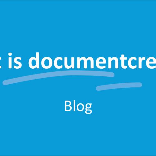 Wat is Documentcreatie