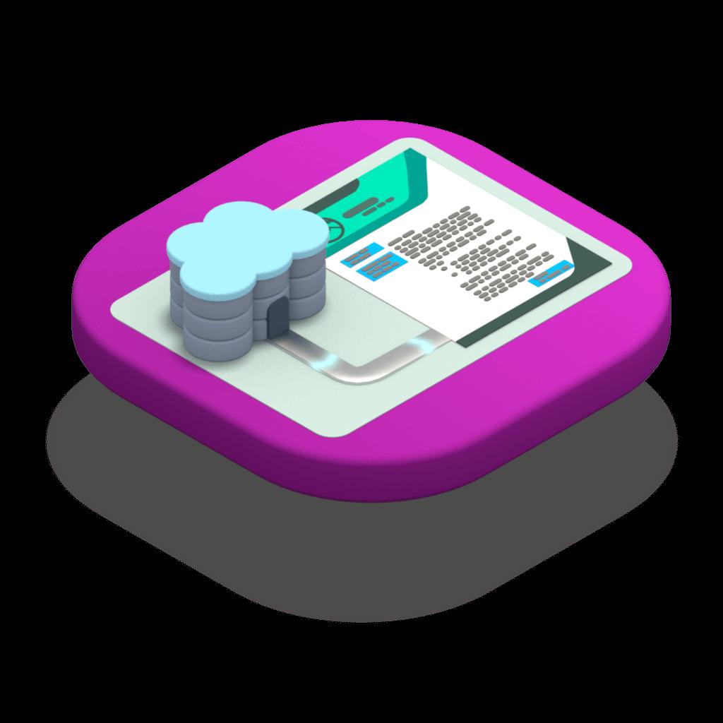 Koppel met database of DMS